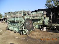 Used Marine Diesel Engine   MAN B&W 7L 28/32A FOR SALE