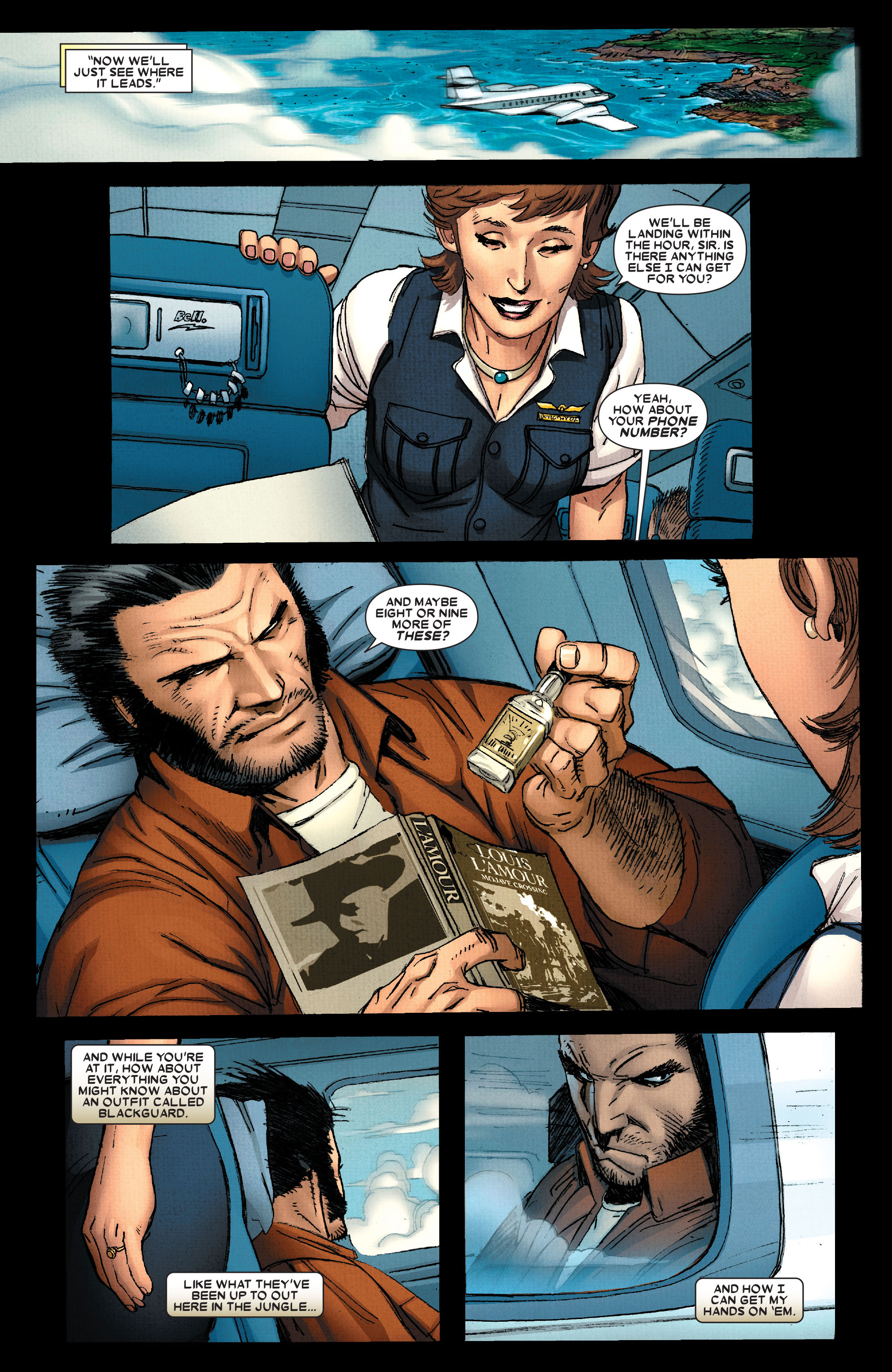 Read online Wolverine: Weapon X comic -  Issue #2 - 7