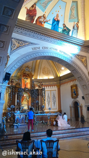Altar of Our Lady of the Abandoned Church in Marikina CIty
