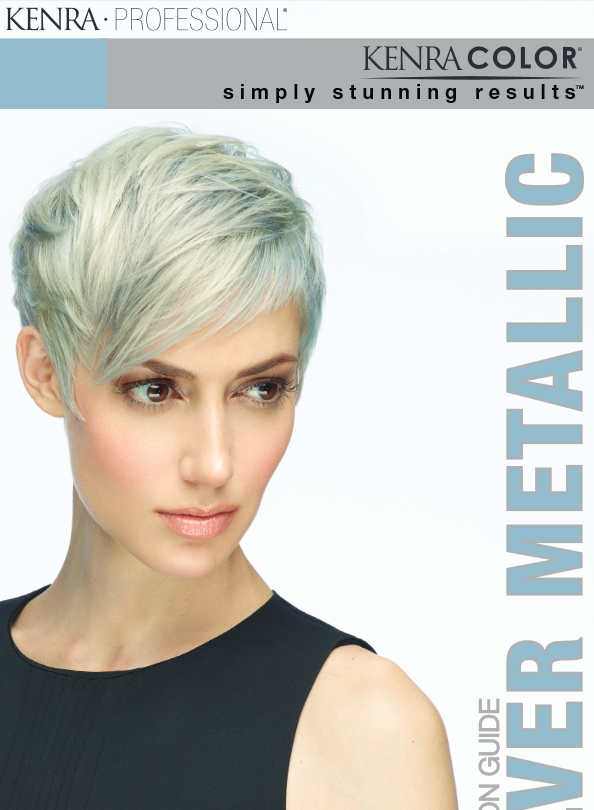 Kenra's New Line of Silver Metallic Hair Color