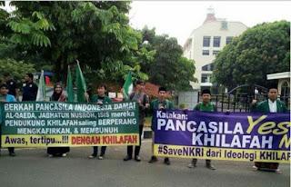 Pancasila Yes, Khilafah No, Save NKRI dari Ideologi Khilafah - Larang HTI