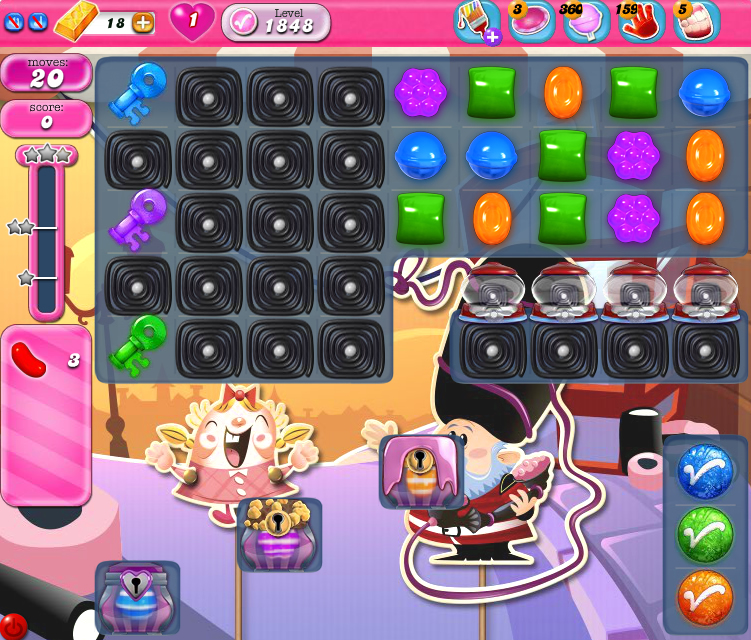 Candy Crush Saga 1848