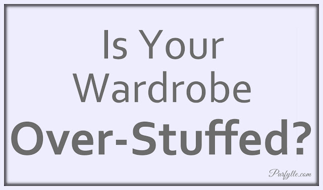 Is Your Wardrobe Over-Stuffed?