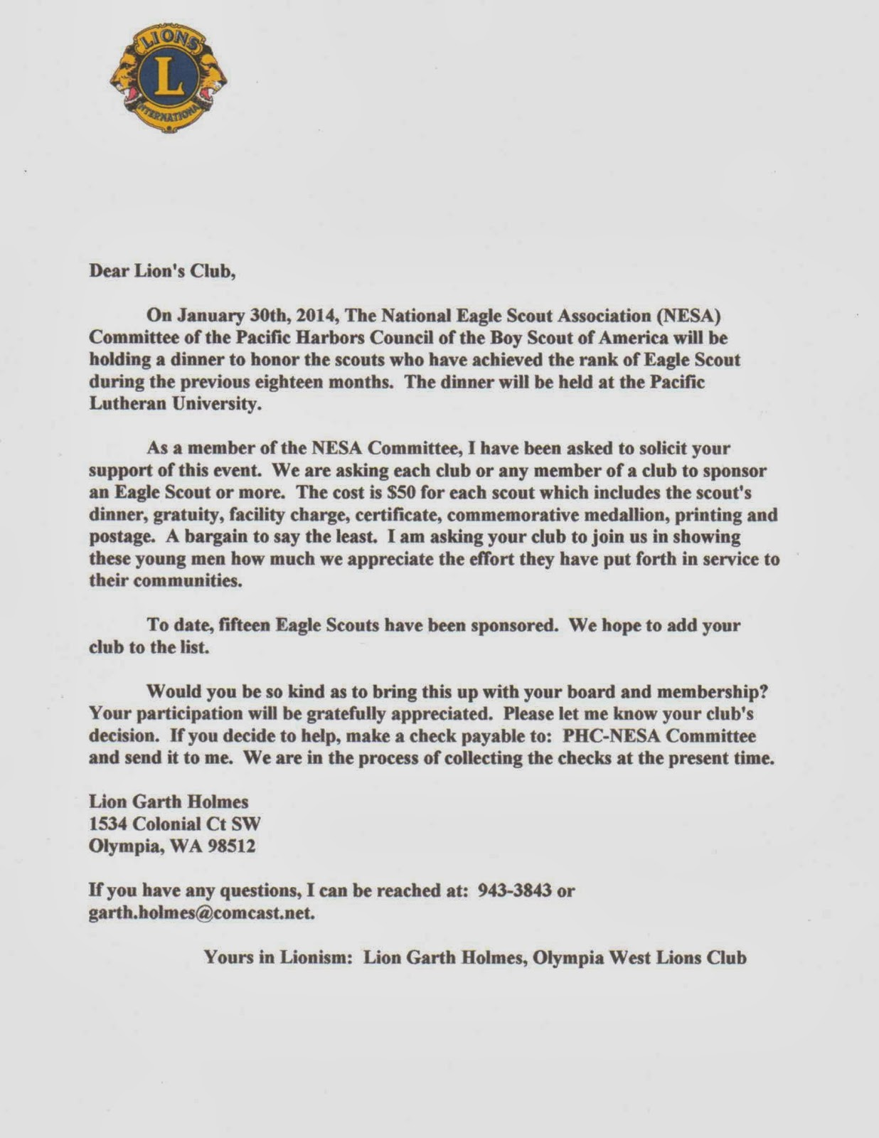 american legion letterhead template - boy scout scholarship essay
