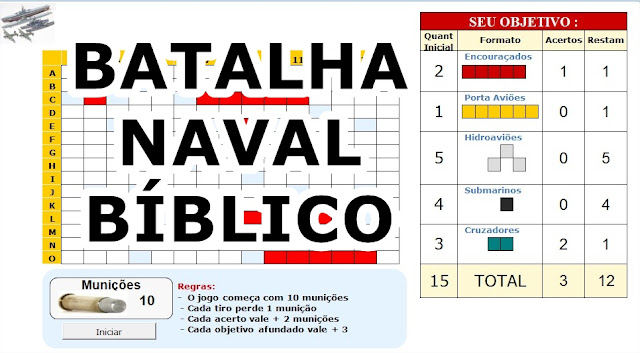 Batalha naval Biblico