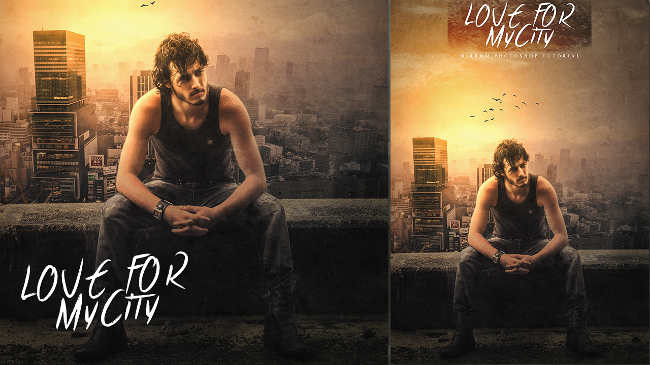How To Create Poster Photo Manipulation Concept In Photoshop