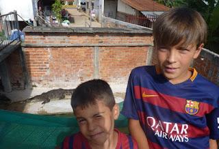 Granja de cocodrilos de Siem Reap.