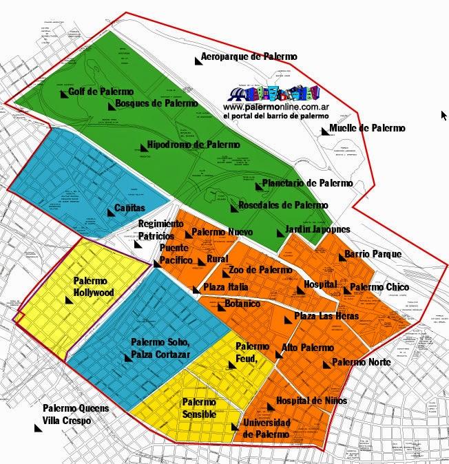 zonas de palermonline 734502
