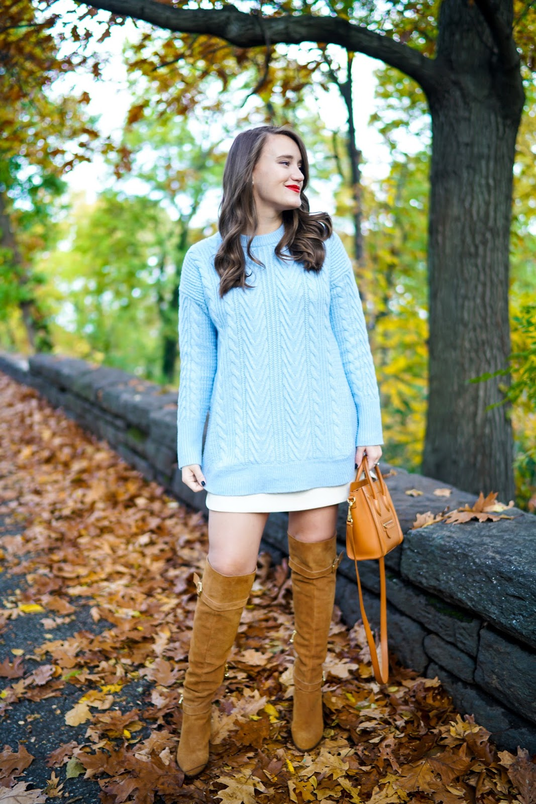 Cable Knit Tunic Sweater | Covering the Bases | Fashion and Travel ...
