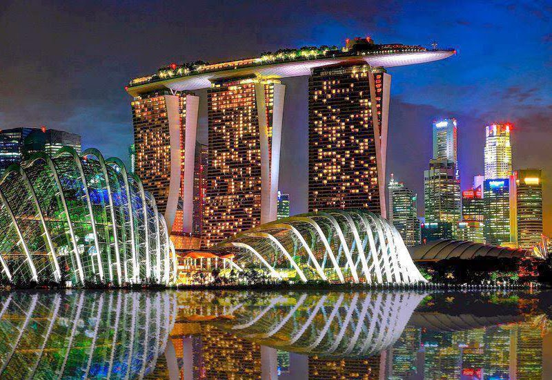 Hotel Marina Bay Sands in Singapore
