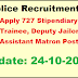 AP Police Recruitment 2016 Apply 727 Stipendiary Cadet Trainee, Deputy Jailor and Assistant Matron Posts
