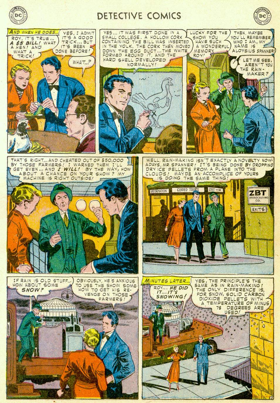 Read online Detective Comics (1937) comic -  Issue #184 - 19