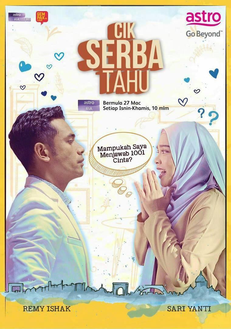 Cik Serba Tahu Poster