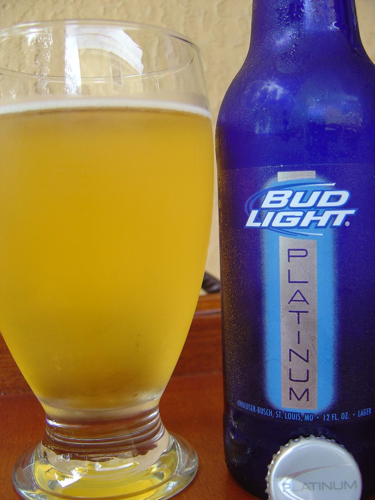 bud light platinum nutrition
