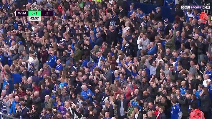 بالفيديو : ليستر سيتي يفوز على وست بروميتش ألبيون بهدف نظيف اليوم السبت 29-04-2017 الدوري الانجليزي