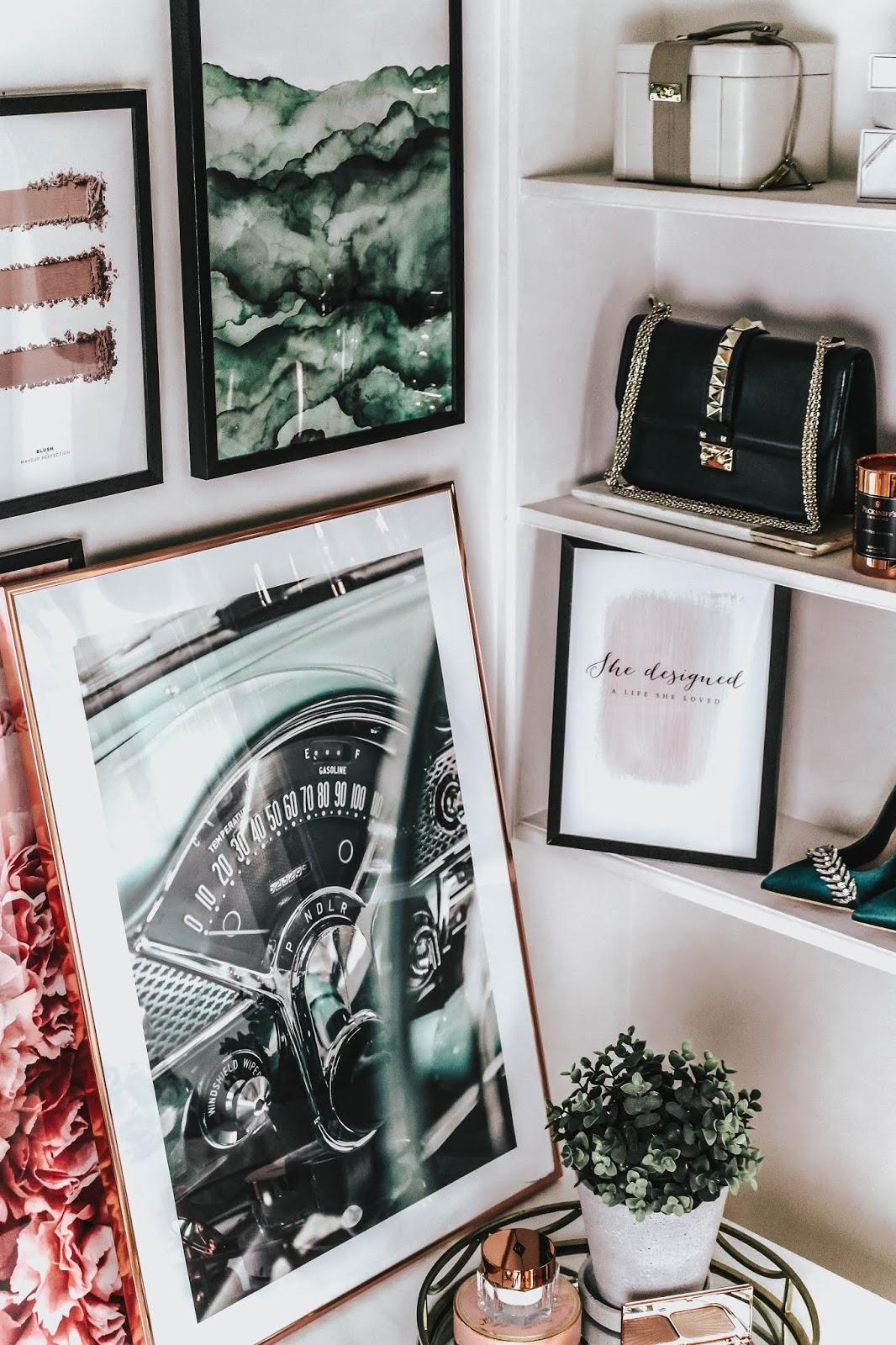 Desenio Summer Prints Office Space