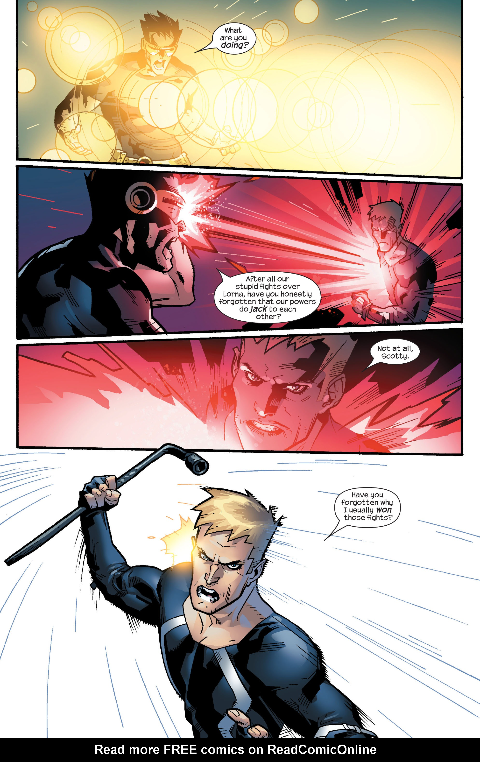 Read online Ultimate X-Men comic -  Issue #63 - 18