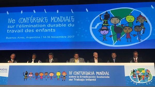 Inicia en Argentina IV Conferencia sobre Trabajo Infantil