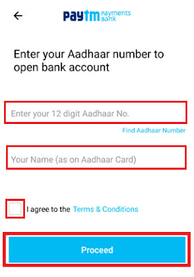 how to open paytm paytment bank account for non kyc customers
