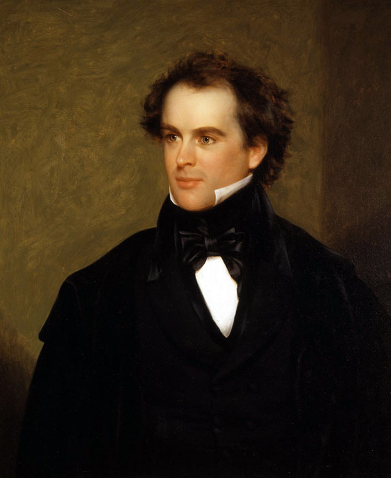 nathaniel hawthorne use of imagery in young goodman brown First published in 1835 in the new england magazine, nathaniel hawthorne's young goodman brown later appeared in his 1846 short story collection mosses f.