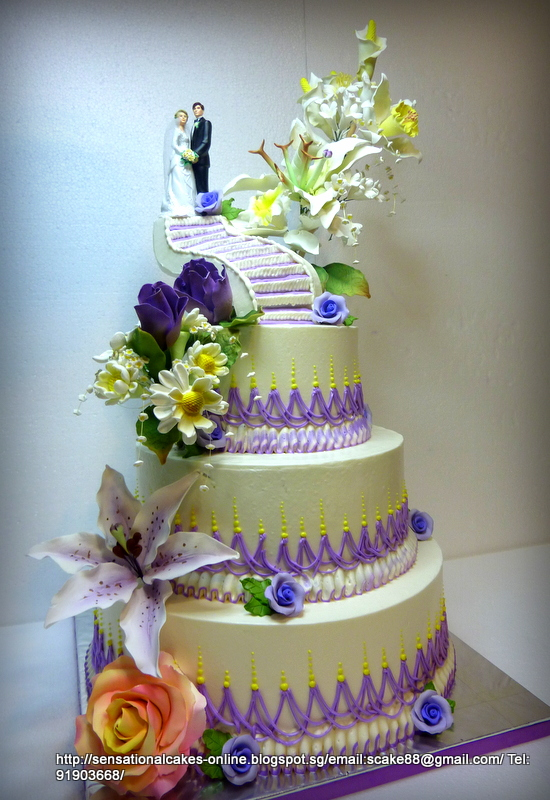 tiered wedding cakes singapore cakes2share singapore 3 tiered wedding cake singapore 20978