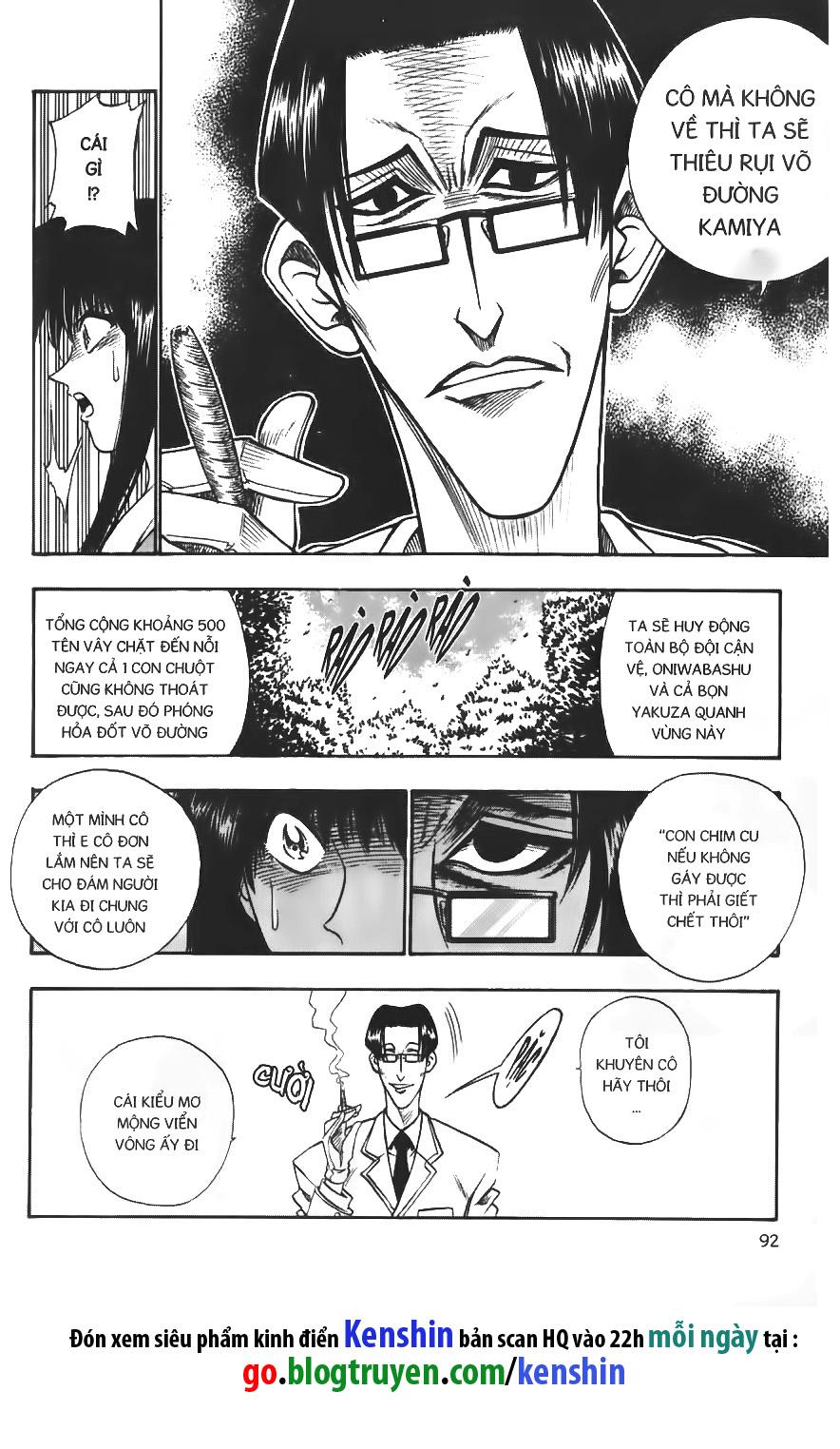 Rurouni Kenshin chap 20 trang 10