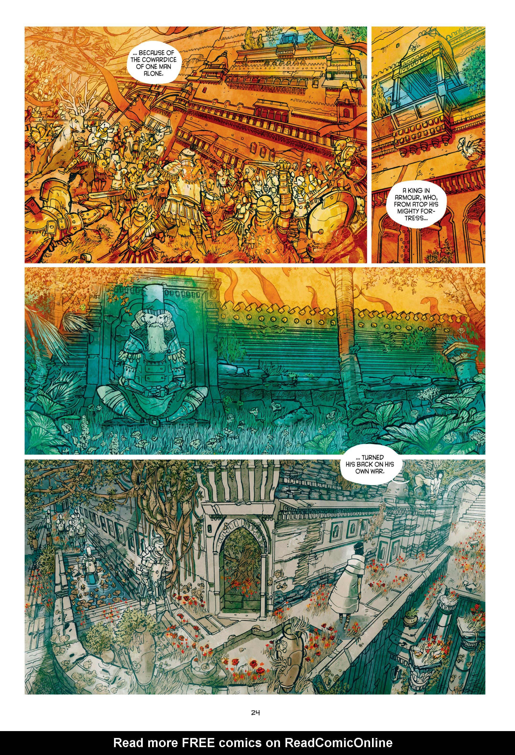 Read online Adrastée comic -  Issue #1 - 25