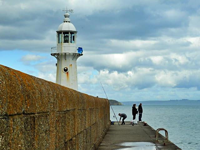 Mevagissey Lighthouse, Cornwall
