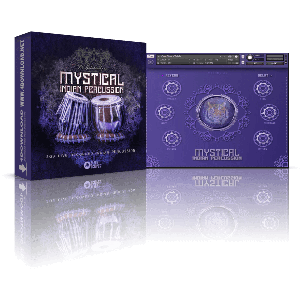 Mystical Indian Percussion KONTAKT Library