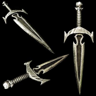 Skyrim Mehrune's Razor Dagger 3D Printed and EVA Foam