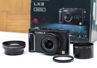 Jual Panasonic Lumix LX3 Bekas