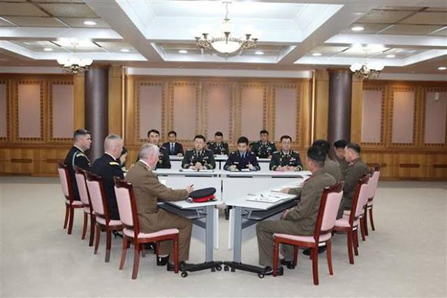 Phái đoàn Hàn Quốc, Triều Tiên