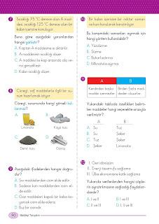 5. Sınıf Arapça Ders Kitabı Cevapları Mektep Sayfa 90