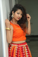 Shubhangi Bant in Orange Lehenga Choli Stunning Beauty ~  Exclusive Celebrities Galleries 015.JPG