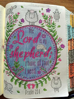 Inspire Bible Pages by Lynn Shokoples