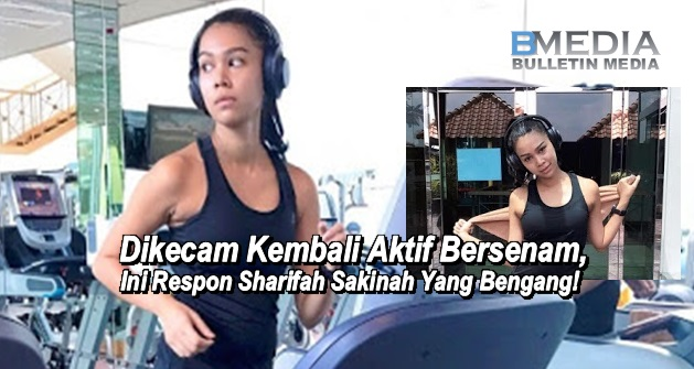 Dikecam Kembali Aktif Bersenam, Sharifah Sakinah Marah.. Tampil Beri Respon