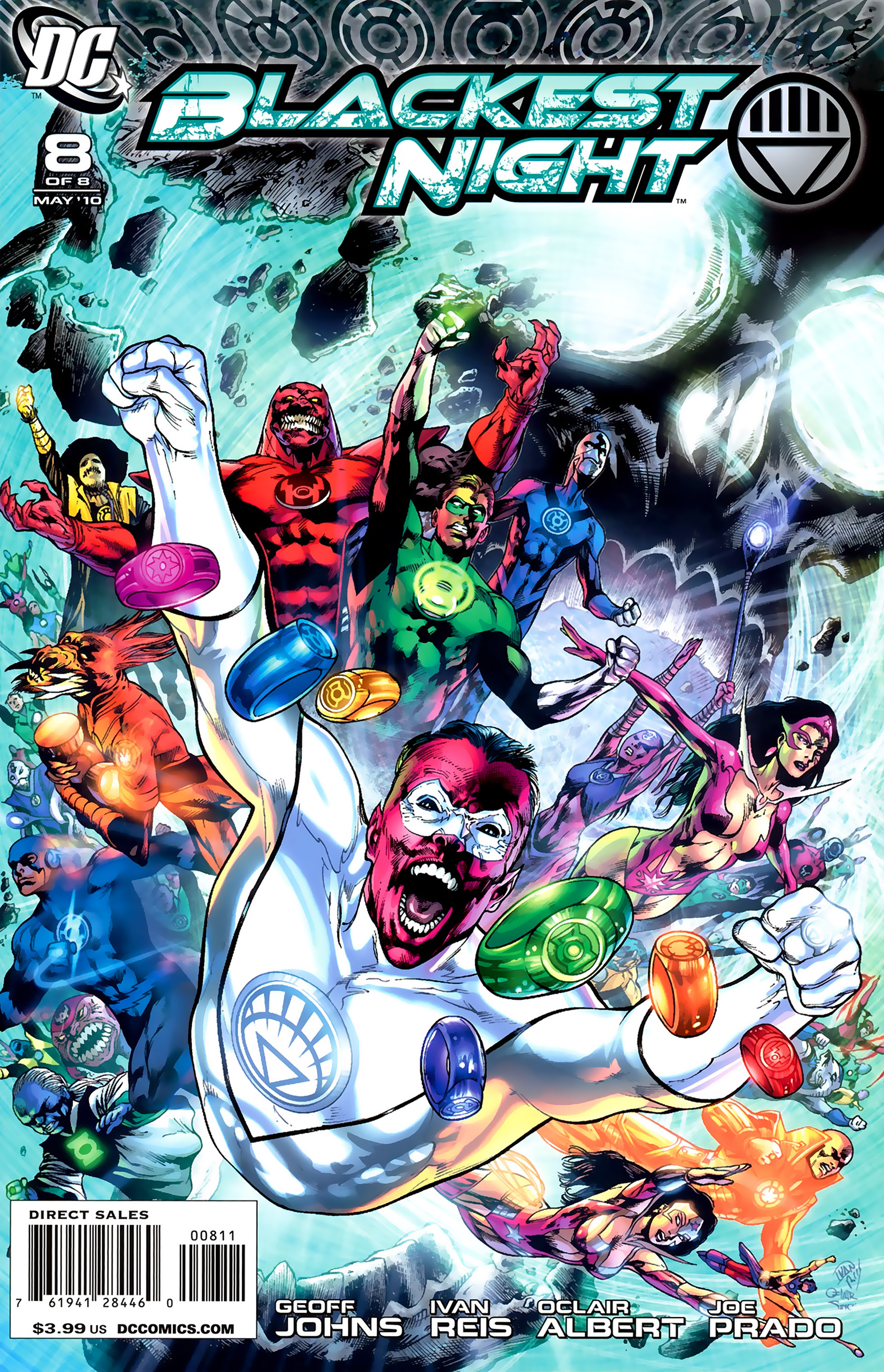 Blackest Night 8 Page 1