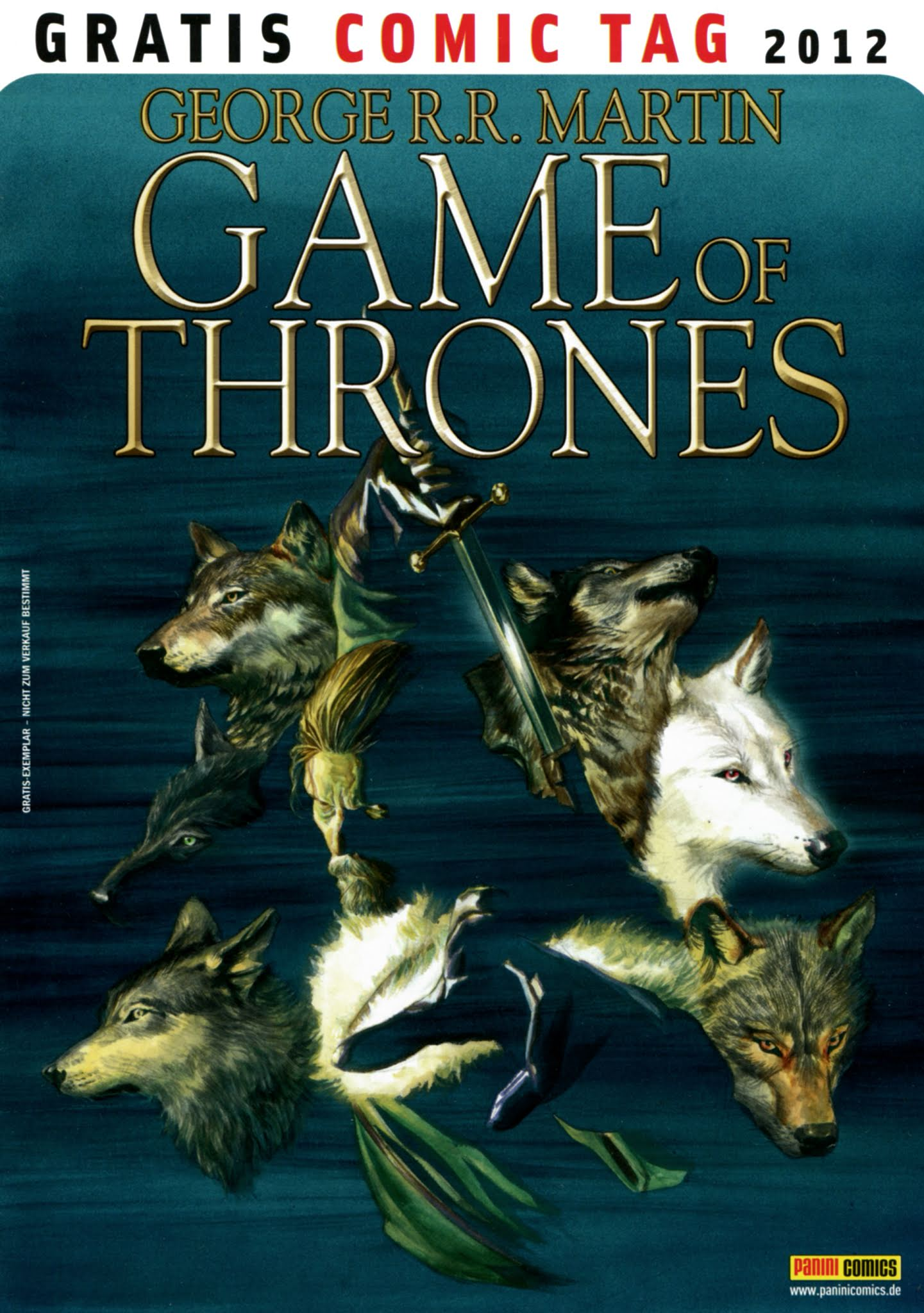 Game of Thrones issue Full - Page 1