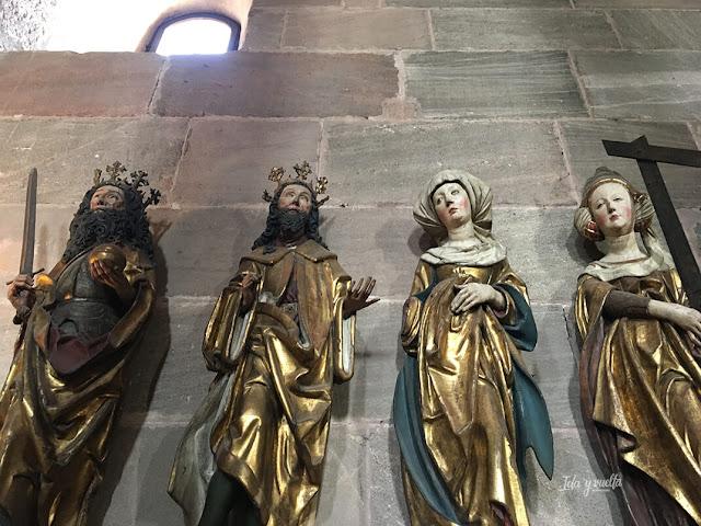 Imágenes religiosas en la Doble Capilla