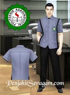 seragam kerja lengan pendek