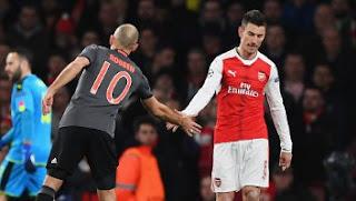 Arsenal Dibantai Bayern Munich Lagi dengan Skor 1-5