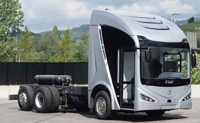 Novo caminhão elétrico