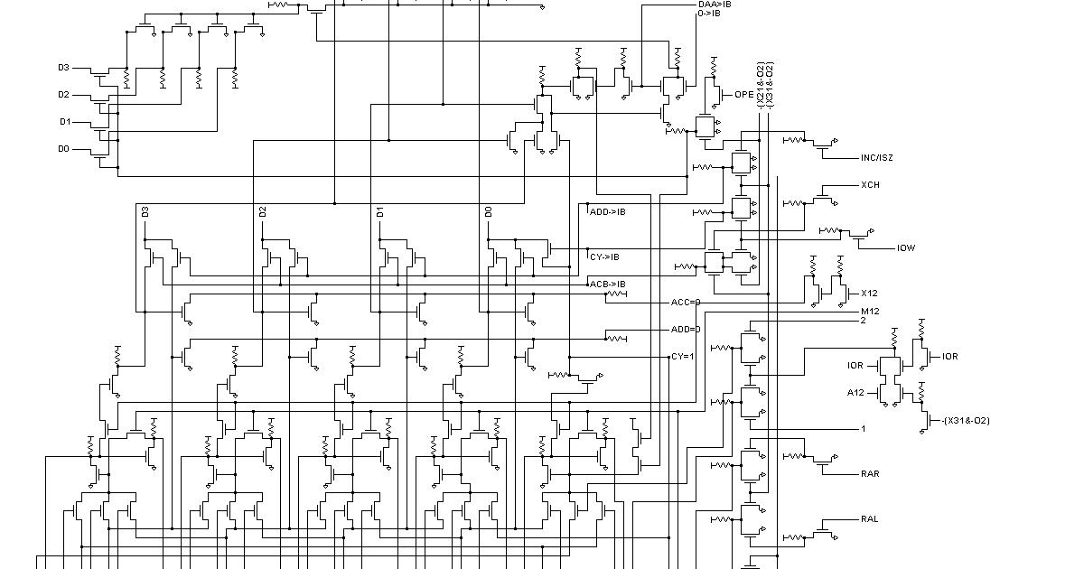 Intel 4004 ~ Electronic Freaks