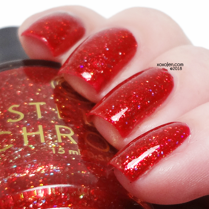 xoxoJen's swatch of Stella Chroma Queen Regent