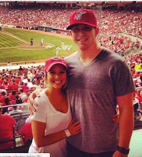 Andy Dalton With His Wife