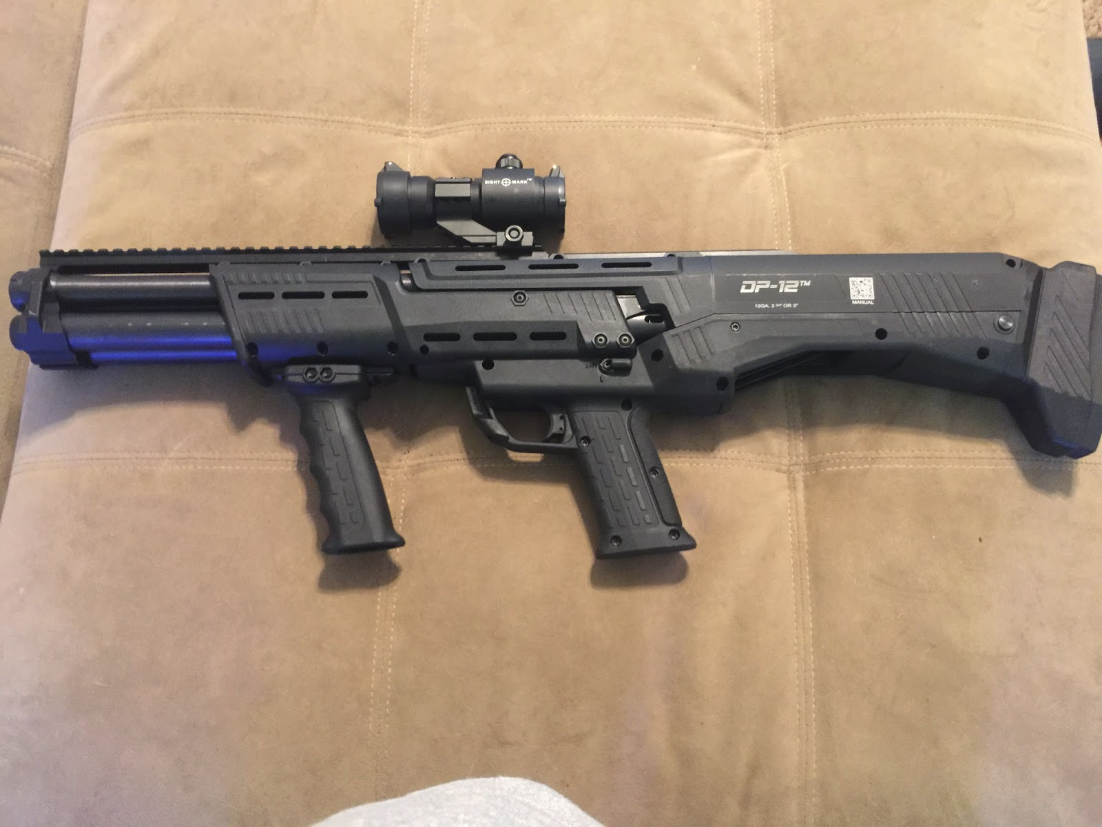 Seagulls And Guns: Yes, I'm Doing A Gun Review. The DP-12