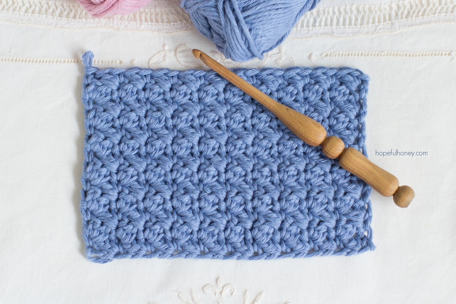 Crochet Stitches Tutorial : ... , Crochet, Create: How To: Crochet The Suzette Stitch - Easy Tutorial