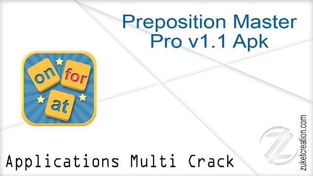 Preposition Master Pro v1.1 Apk