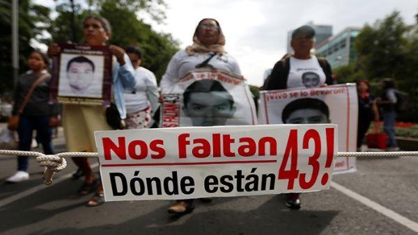 Nueva pista del paradero de los 43 de Ayotzinapa en México