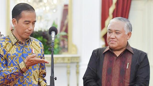 Jokowi akan Bicara dengan Din soal Mundur dari Utusan Khusus Presiden